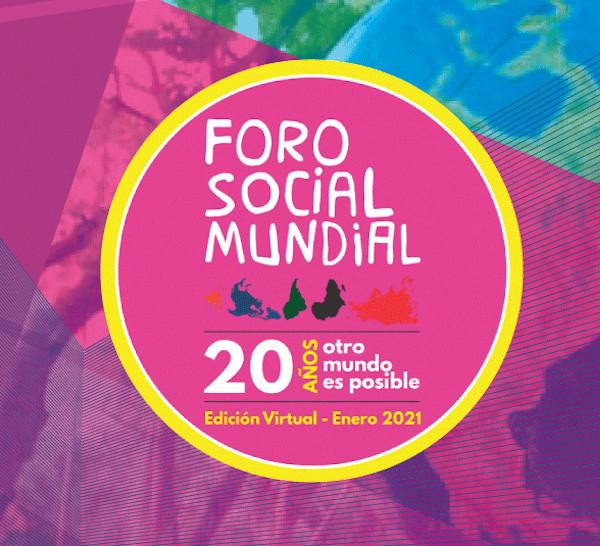 Resultado de imagen para foro social mundial virtual 2021